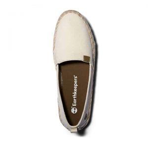 Scarpa Slip-On da Donna Barcelona Bay EK+ in bianco