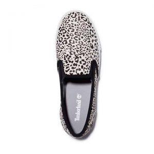 Scarpa Slip-On da Donna Skyla Bay con stampa leopardata