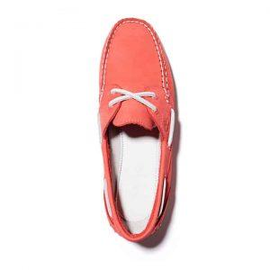 Scarpa da Barca da Donna Classic 2-Eye in rosso