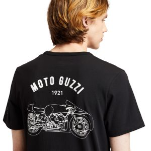 T-Shirt da Uomo Moto Guzzi X Timberland® in Colore Nero