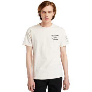 T-Shirt da Uomo Moto Guzzi X Timberland® in Colore Bianco